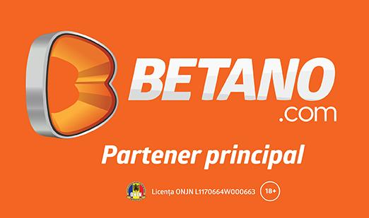 Betano - Partener principal Universitatea Craiova