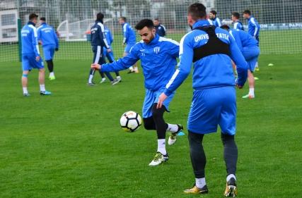 Antrenament în Antalya, 11.01.2018