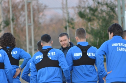 Primul antrenament în Antalya