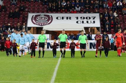CFR Cluj - Universitatea Craiova 0 - 0 (01.10.2018)