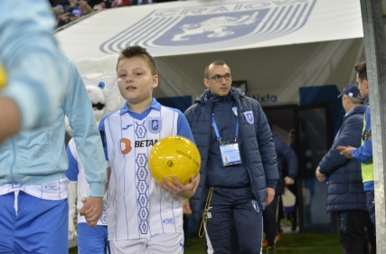 Player Escort la Universitatea Craiova - CFR Cluj