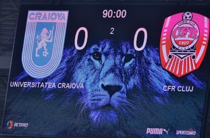 Universitatea Craiova - CFR Cluj 0 - 0 (11.04.2021)