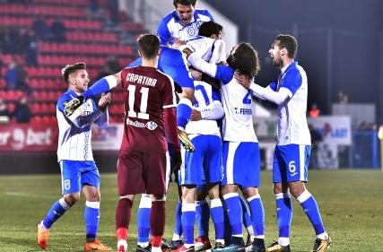 FC Voluntari - Universitatea Craiova 0 - 1, 16.02.2018
