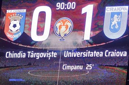 Chindia Târgoviște - Universitatea Craiova 0-1 (02.03.2021) Cupa României