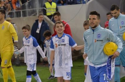 Player Escort la Universitatea Craiova - Juventus București