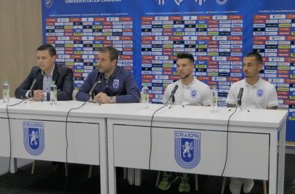 Conferința de presă premergătoare meciului cu Iași, 13.04.2018