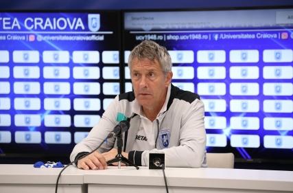 Conferință de presă la finalul meciului cu FC Botoșani.