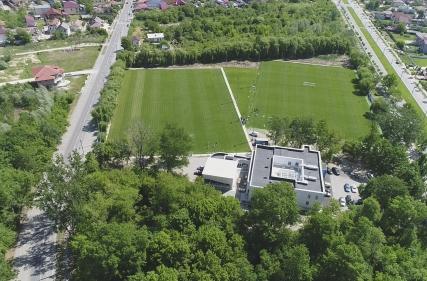 Cantonamentul Universității Craiova văzut din dronă!