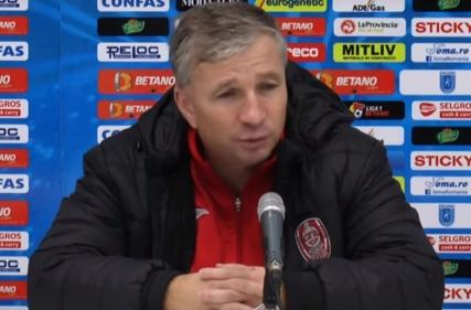 Conferința de presă a lui Dan Petrescu la finalul partidei cu CFR Cluj (2 -1)