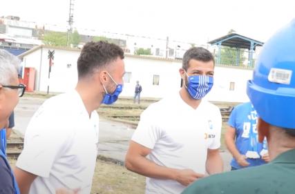 Vizita alb-albaștrilor la Reloc Craiova
