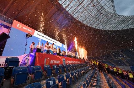 Cupa României a fost prezentată acasă
