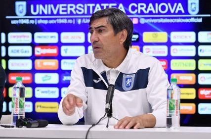 Conferință de presă la finalul meciului cu Politehnica Iași