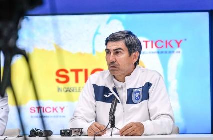 Conferința de presă premergătoare meciului cu Politehnica Iași.
