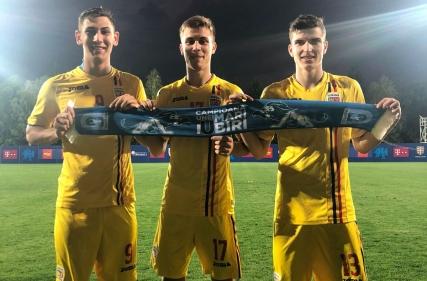 Golurile lui Markovic și Mihăilă în România U-19 - Cipru U-19 2 - 1