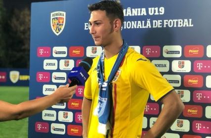 Golul marcat de Jovan Markovic în România U-19 - Cipru U-19 1 - 0