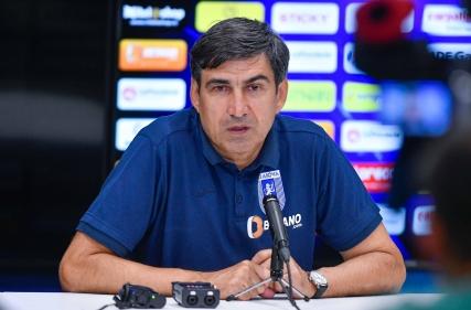 Conferință de presă la finalul meciului Universitatea Craiova - FCSB