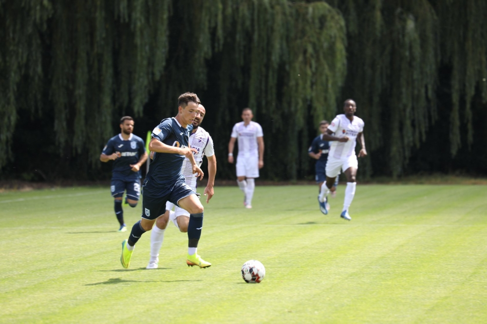Înfrângere în jocul de verificare cu FC Argeș