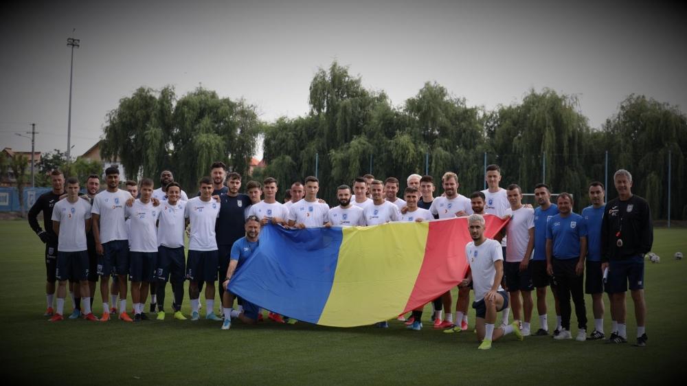 Ziua Drapelului Național, sărbătorită de alb-albaștri