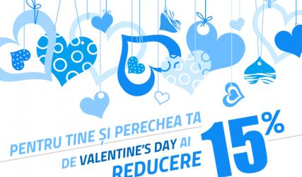 Promoție specială de Valentine's Day pentru suporteri!