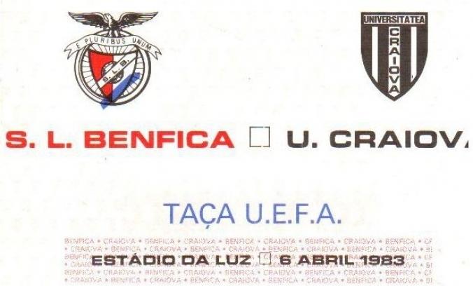35 de ani de la semifinala de Cupă Europeană cu Benfica