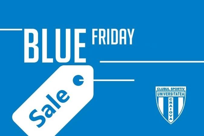 În Bănie, Black Friday devine Blue Friday