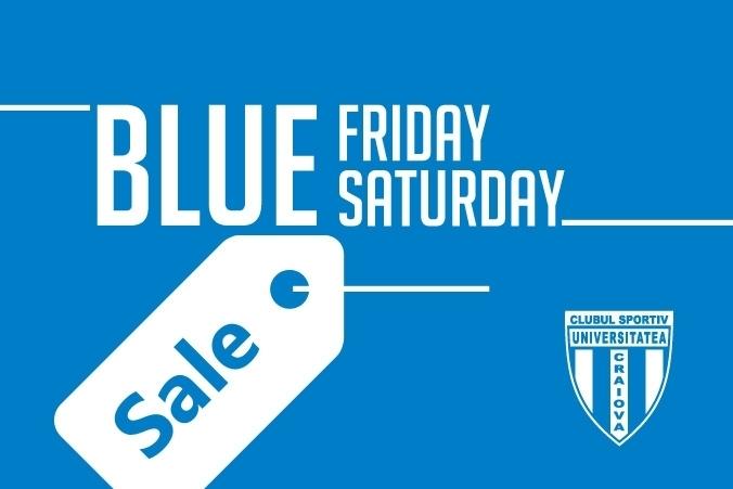 Blue Friday continuă în week-end!