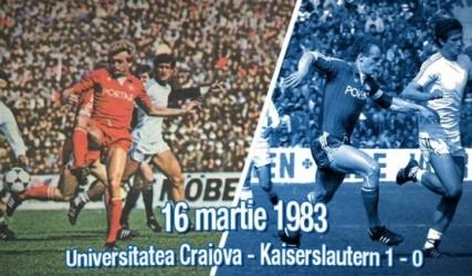 Reperele unei zile istorice: 16 martie 1983. Știința - Kaiserslautern 1 - 0