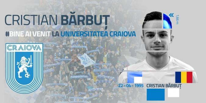 Bine ai venit, Cristian Bărbuț!