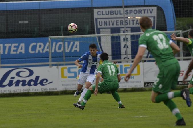 Universitatea Craiova - PFC Ludogorets Razgrad 0-1