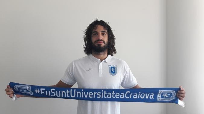 """Tiago Ferreira: """"Bine te-am găsit, Universitatea Craiova!"""""""