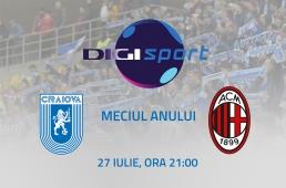 Digi Sport și Universitatea Craiova transmit împreună meciul anului