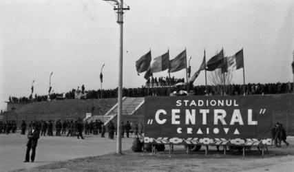 48 de ani de la primul meci al Naționalei la Craiova