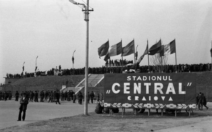 45 de ani de la primul meci al Naționalei la Craiova