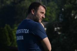 """Mangia: """"Sunt norocos să antrenez niște băieți minunați, într-un oraș îndrăgostit de fotbal. Iubesc Craiova!"""""""