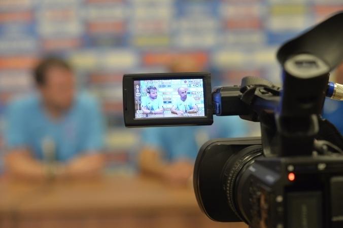 Conferința de presă premergătoare partidei cu FC Voluntari