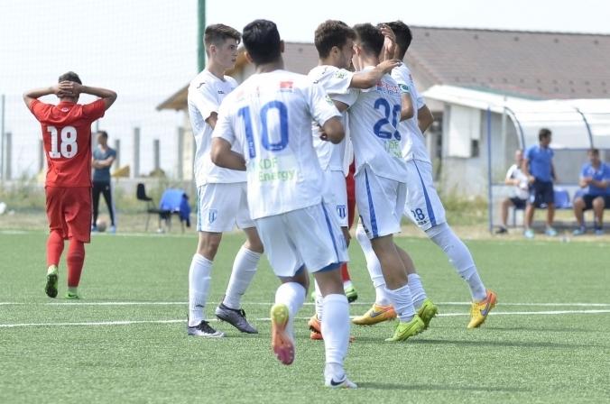 Victorii mari pentru alb-albaștri în Liga Elitelor U-17 și Campionatul Național U-19