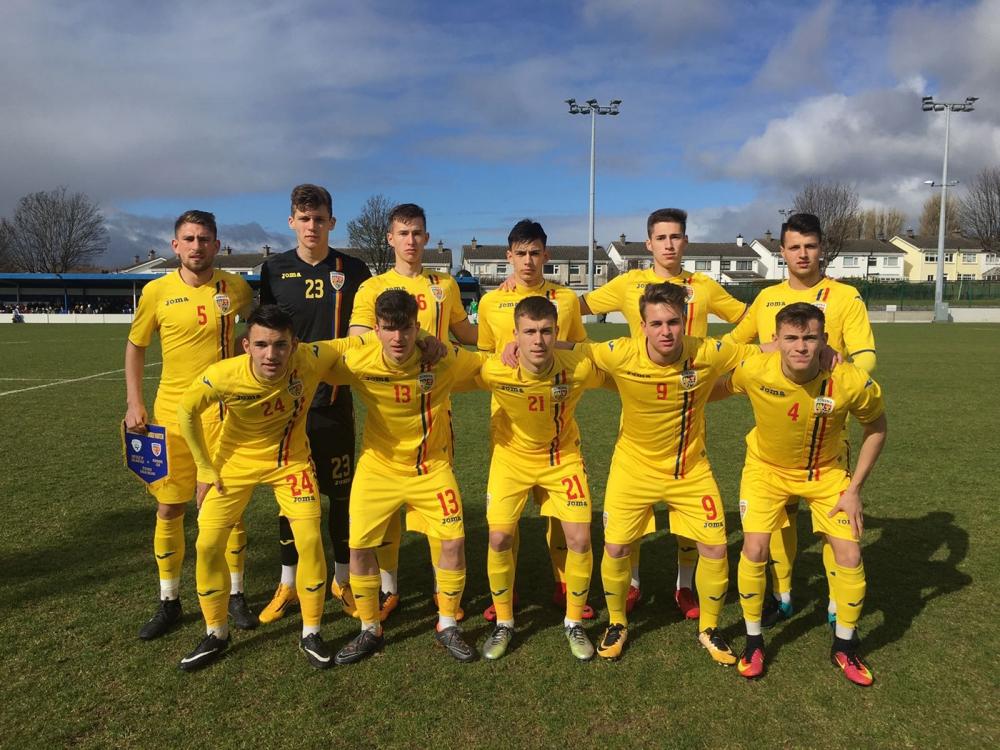 Șerban și Mihăilă au contribuit la victoria Naționalei U-18