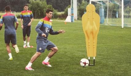 Cu Screciu stâlp al apărării, România U-19 câștigă en-fanfare!