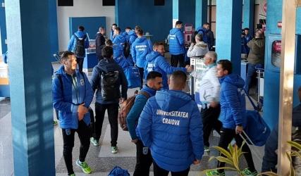 """Drumul alb-albastru spre Antalya: """"leii"""" au ajuns în cantonament!"""