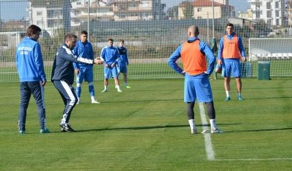 A doua zi în Antalya cu două antrenamente
