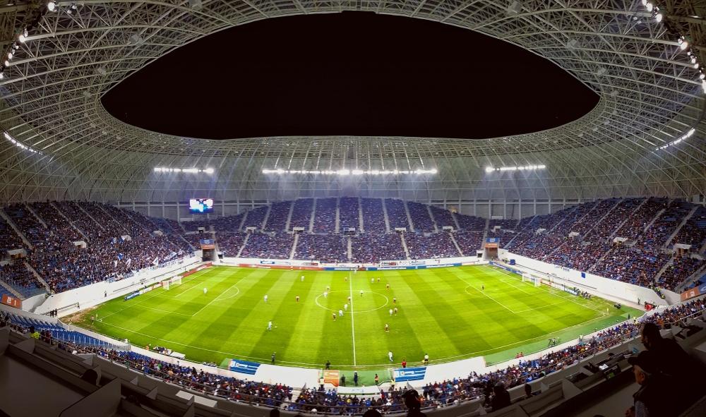 Meciul cu RB Leipzig se vede DOAR din #VulcanulDePeOblemenco!