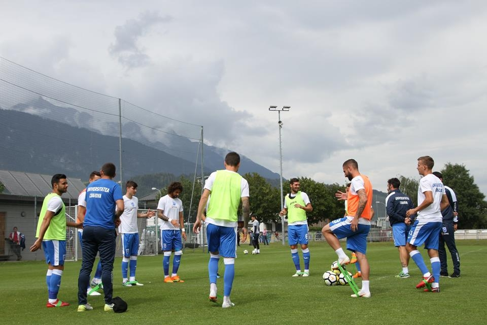 #LIVEVIDEO: Universitatea Craiova - FC Wacker Innsbruck