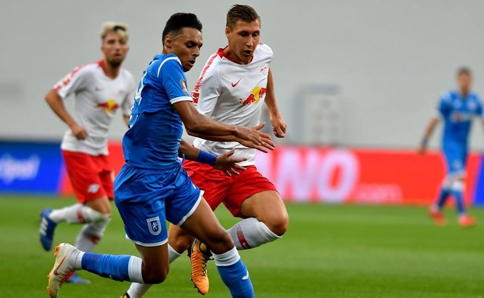 Tânărul Baicu scoate egalul în fața lui RB Leipzig