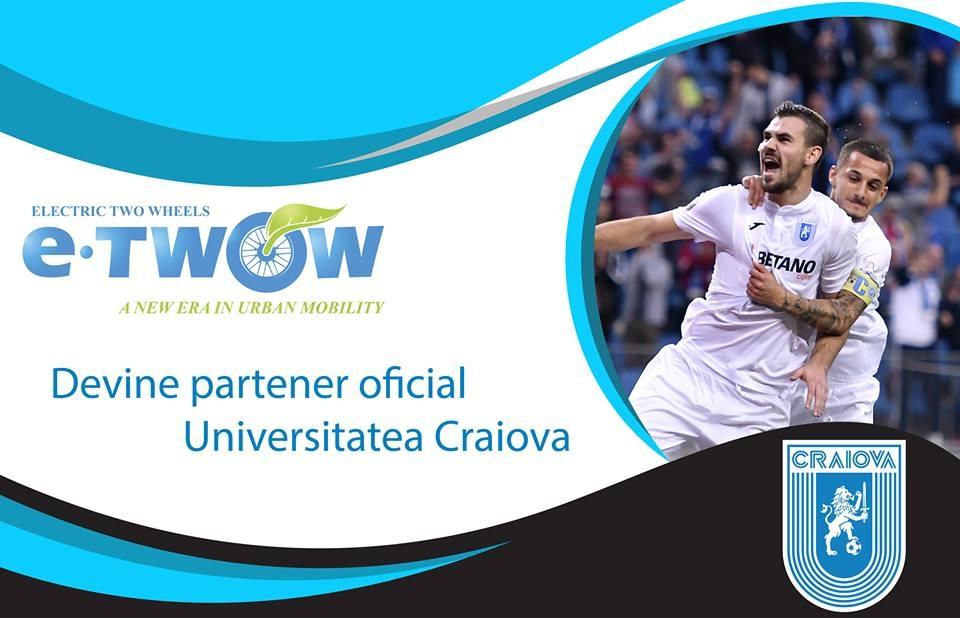 Universitatea Craiova & E-TWOW, impreună în cursa spre marea performanță!