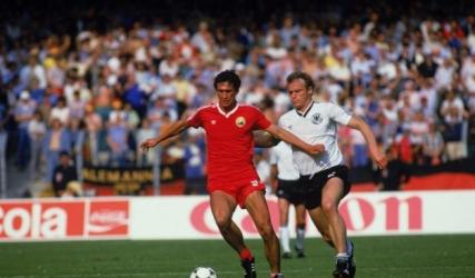 Cămătaru marca două goluri Greciei în urmă cu 35 de ani