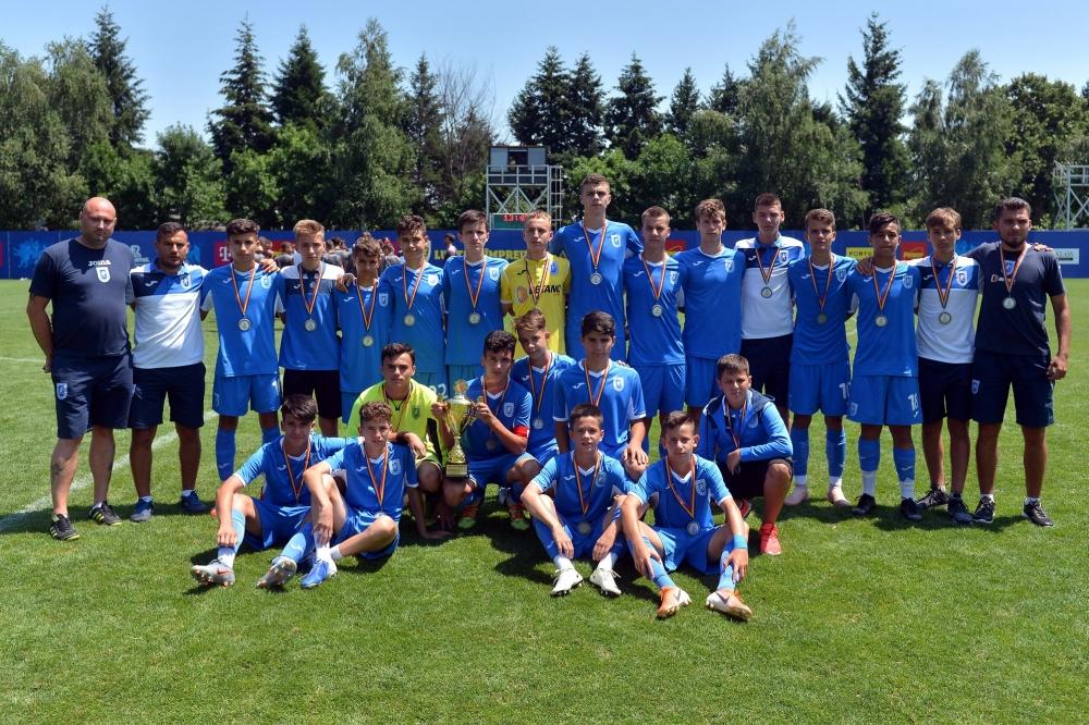 Din păcate, înfrângere în finala Ligii Elitelor Under-15
