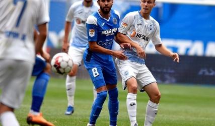 Un nou meci, un nou debut în alb-albastru