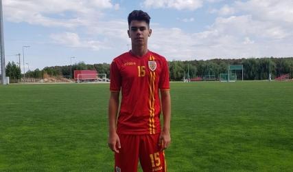 Brășfăleanu, căpitan al tricolorilor Under-16