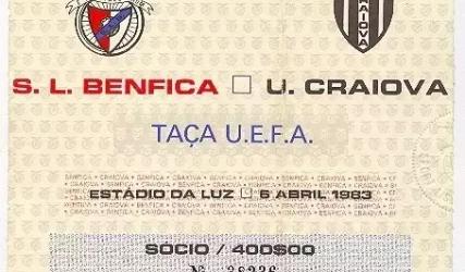 37 de ani de la semifinala de Cupă Europeană cu Benfica