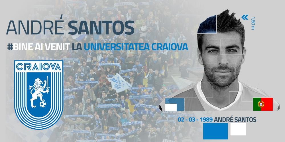 """A jucat cu """"leul"""" lui Sporting pe piept, acum va juca cu cel al Științei: bun venit, Santos!"""